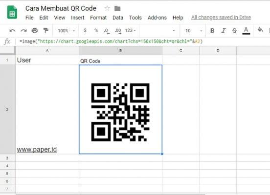 QR Code - Paper.id