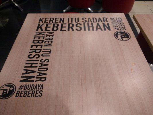 #BudayaBeberes, Kampanye KFC