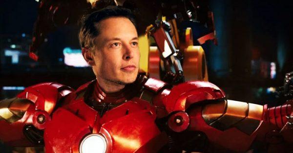 Tony Stark Dunia Nyata