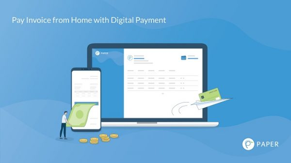 Pay Invoice from Home with Digital Payment Paper.id