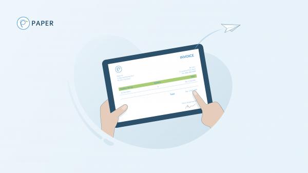 Contoh Invoice Penagihan Yang Mudah Dibuat Paperid Blog
