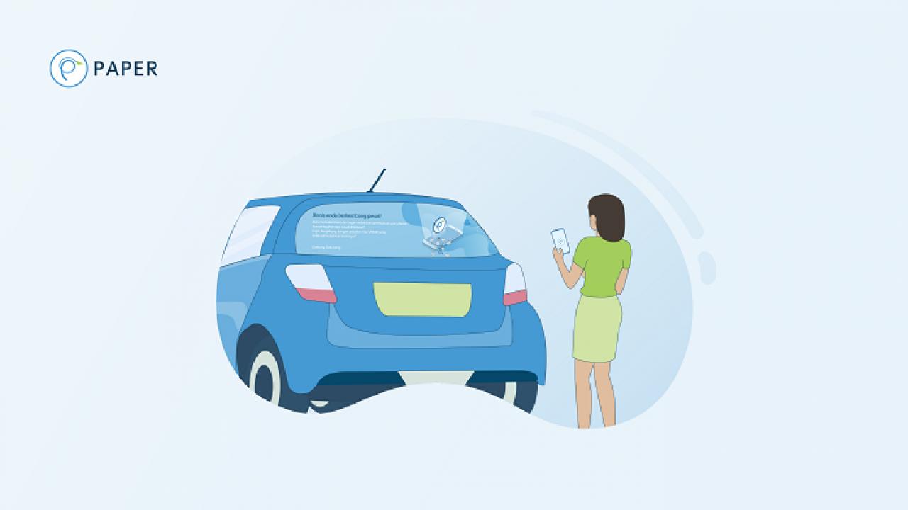Perang Kue Bisnis Stiker Iklan Di Mobil Siapa Paling Dominan