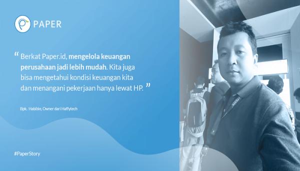 Paper Story: Haffytech, Toko Komputer Lengkap dan Terpercaya di Bali