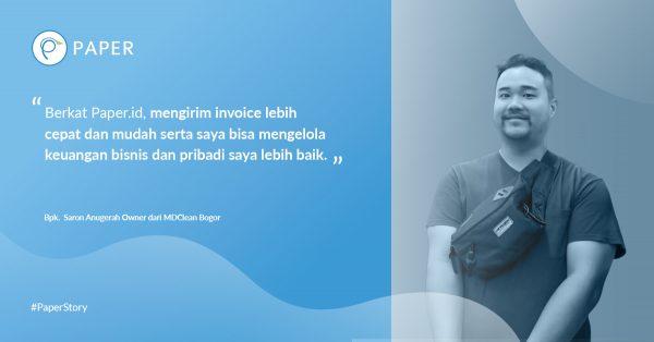 Paper Story: Menilik Bisnis Jasa Kebersihan MD Clean Bogor