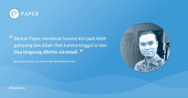 Paper Story: Terjemahjurnal.com, Penerjemah Untuk Kaum Akademis