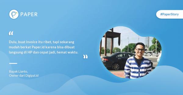 Paper Story: Branding dan Promosi Bisnis Lewat Digipal.id