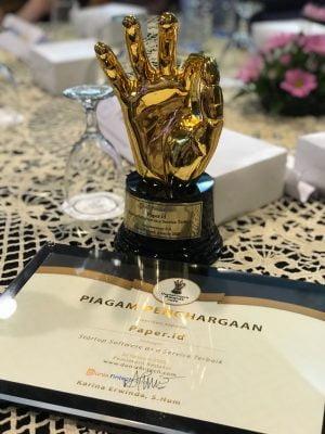 Dunia Fintech Awards 2020, Paper.id Raih Startup Software as a Service Terbaik